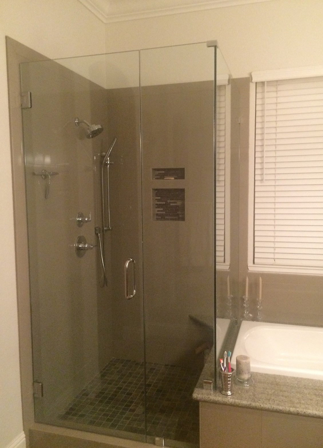 custom shower enclosures in fairfield ca solano county glass